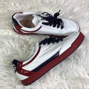 Dolce Gabbana Rhinoceros Sneakers White Red